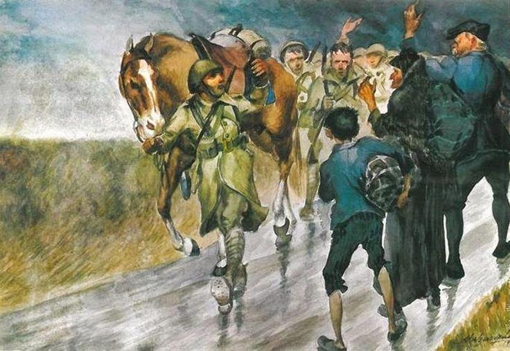 Χαιρετισμός προς το μέτωπο-Αλέξανδρος Αλεξανδράκης