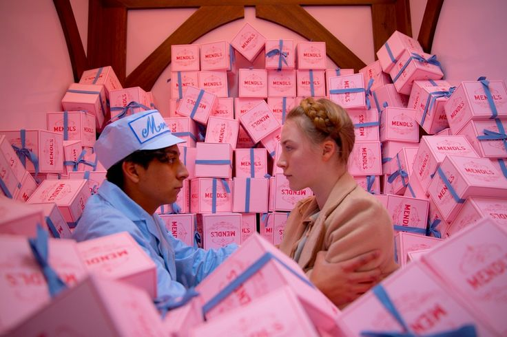 Tony Revolori and Saoirse Ronan in The Grand Budapest Hotel, a Wes Anderson film. More images here: http://www.dazeddigital.com/the-grand-budapest-hotel-day