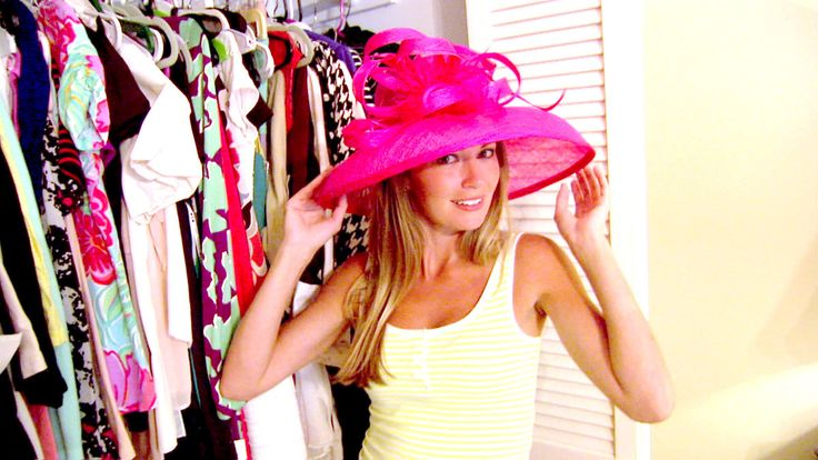 """Season 1 Exclusive: It's not so much a """"walk-in closet"""" as it is a """"walk-at closet,"""" but it is loaded with Cameran's coveted consignment-chic finds."""