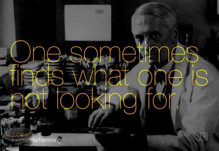 #alexander #flemming #penicillin #quotes