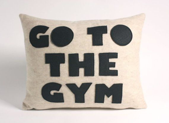 :)Fit, Daily Reminder, Inspiration, Around The House, Motivation, Gym, Felt Appliques, Couch Pillows, Workout
