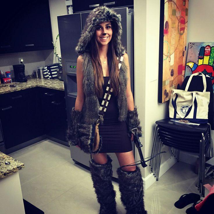 Made a female Chewbacca costume rrwwwuurrghhh ;]