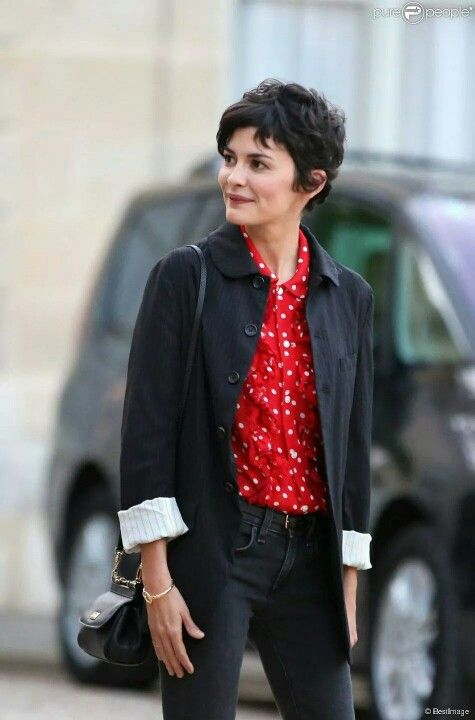 Audrey Tautou Audrey Tautou In 2019 Curly Hair Styles