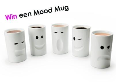 Win een superleuke Mood Mug! Kijk voor de actie op http://www.wonenonline.nl/actie-moodmug.html