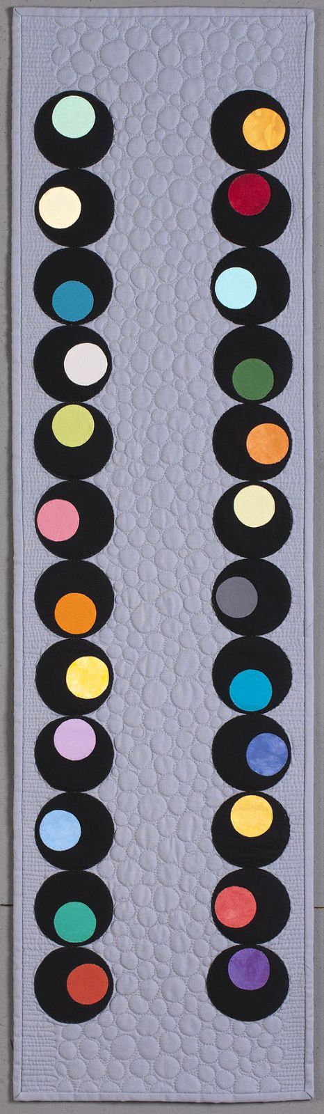 Olives table runner, in:  Quilt Retro by Jenifer Dick at Kansas City Star Quilts