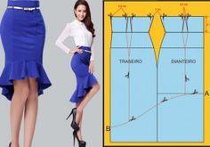 Corte y confeccion cursos patrones moldes blusas gratis High and low