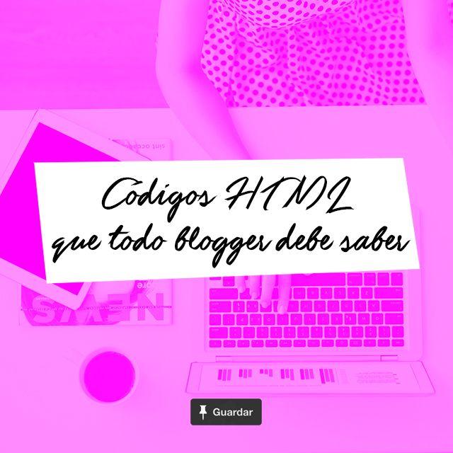 15 Códigos HTML que todo blogger debería conocer