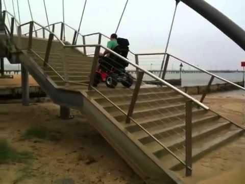 17 best images about wheelchairs videos wheels and see how easy it is for magic mobility extreme x8 to go up stairs available