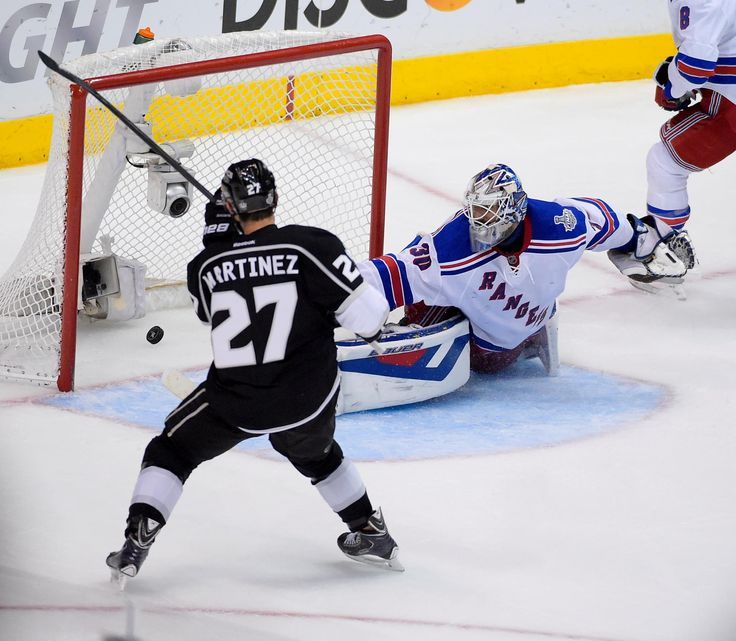 Alec Martinez game winning goal of the 2014 Stanley Cup