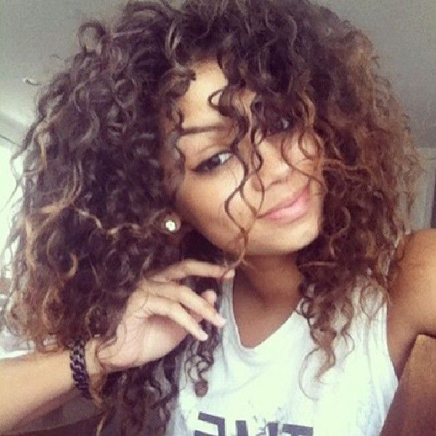 Phenomenal 1000 Ideas About Highlights Curly Hair On Pinterest Dutch Short Hairstyles For Black Women Fulllsitofus