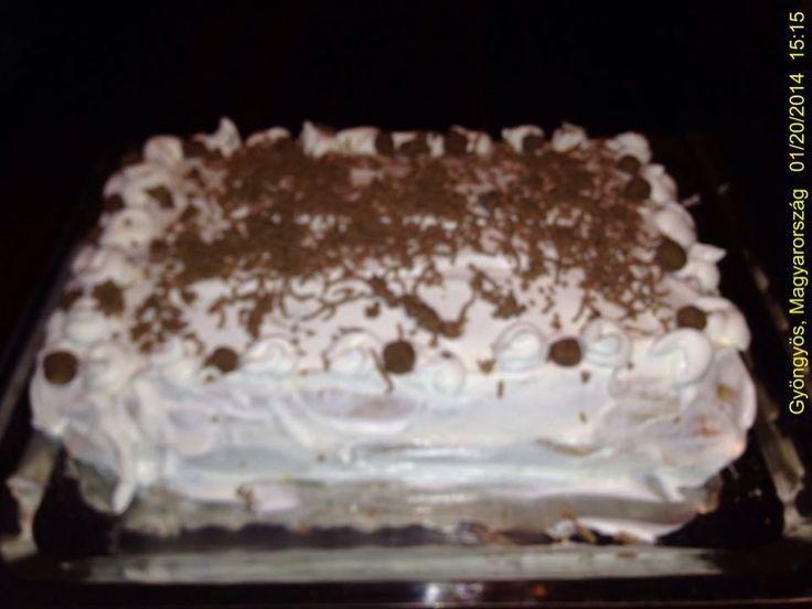 Gesztenye Torta / Chestnut  Cake  / Hungary, Gyöngyös