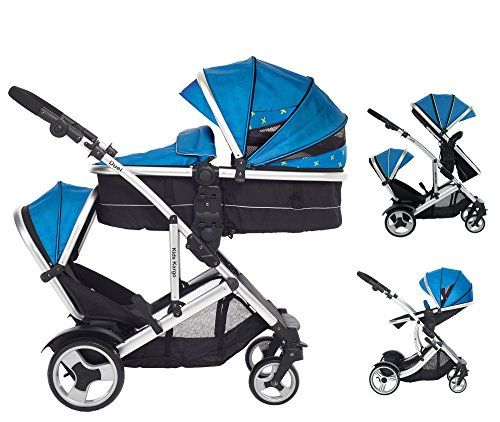 Duel DS Double Tandem Pushchair twin pushchair     Order now!