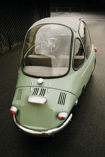 Heinkel Cabin Cruiser #cars
