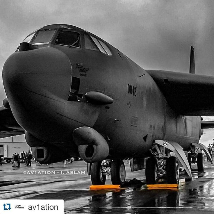 Boeing B 52 Stratofortress Of The U S Air Force History: #Repost @av1ation ・・・ 💣 The 'BUFF'
