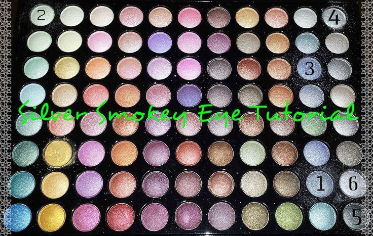 Silver Smokey Eye Tutorial #makeup #beauty #cosmetics #makeuptutorials #tutorial #beautyguru #youtube #youtubetutorial #bhcosmetics #strawberrynet #makeuptutorial #smokeyeyemakeup #smokeyeye #silver #eyeshadow