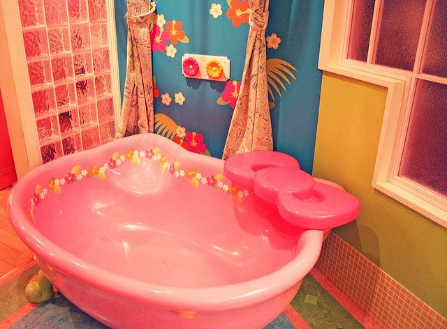 kitty tub - I need this in my house!