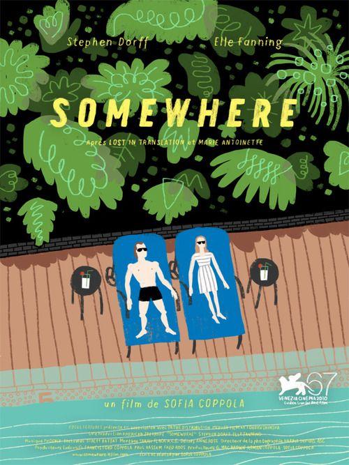Sophia Coppola's Somewhere Poster // Illustration by Gabriel Ebensperger
