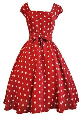 1950 I used to have a vintage dress similar to this. loved it!