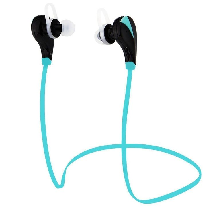 Wireless Bluetooth Sport Headphones By Amentis - Noise Cancelling Headset With Mic - Clear Stereo Sound - Steady, Comfortable, Sweat Proof Earbuds For Running (Blue). ENJOY CRYSTAL CLEAR STEREO SOUND AND GET CARRIED AWAY: Music accompanies our happiest and saddest moments, it can instantly change our mood, bring back memories or make us feel elated and energized! How about experiencing all the above to the fullest? This top notch wireless Bluetooth headset is all you need to enjoy your...