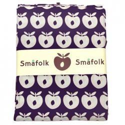 Lilla Småfolk sengetøj med hvide æbler