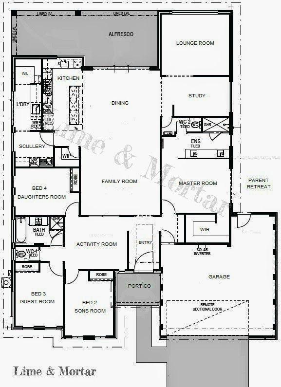 Lime & Mortar: Floor Plan