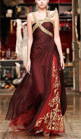 Summer gown for Cersei, Ella Zahlan Oh, and can I order the body to go with it, please?