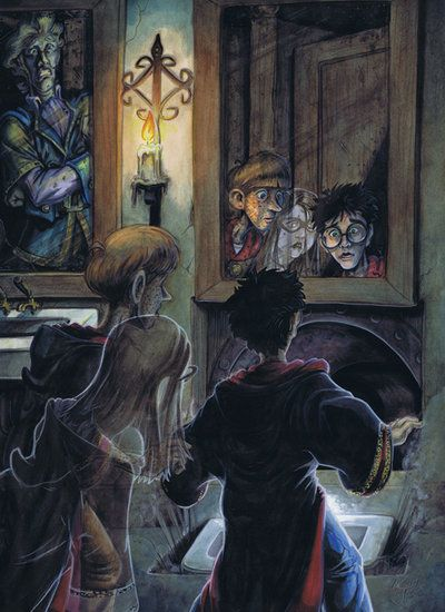 Harry Potter: Book 2, Ch.16 by TheGeekCanPaint.deviantart.com on @deviantART