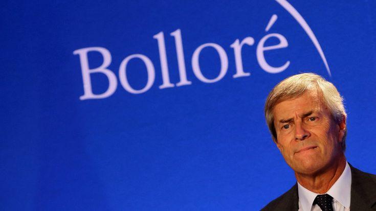 Président-directeur général du groupe Bolloré, Vincent Bolloré