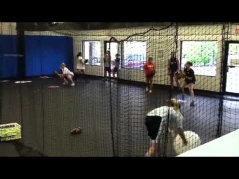 Great catcher drill