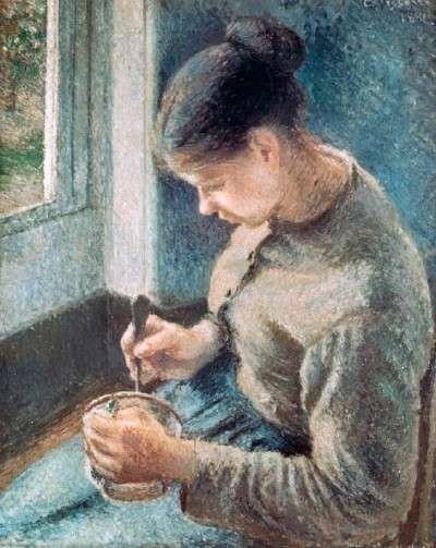 Café Au Lait, Camille Pissarro.