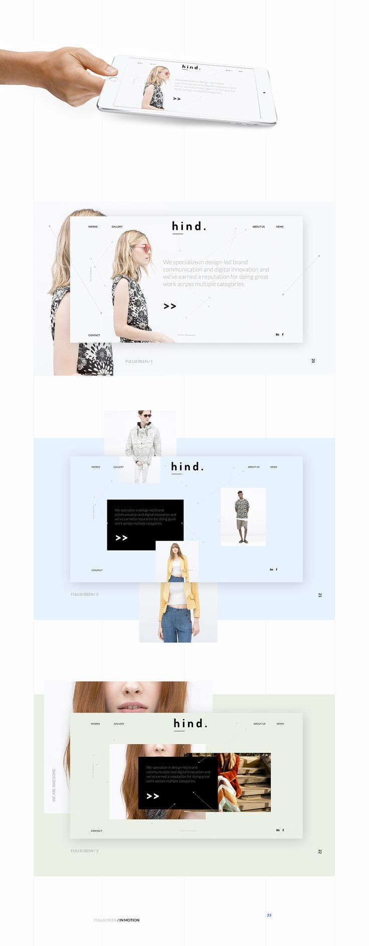 Hind on Behance