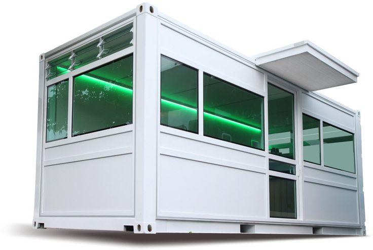 Shipping Container Home-Studio - http://www.tinyhouseliving.com/shipping-container-home-studio/