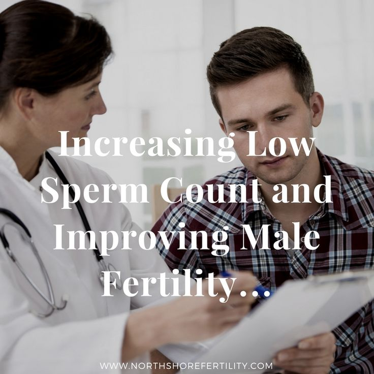 Low sperm count and infertility in men is more prevalent than most couples think. People tend to think that if a woman is not getting pregnant the fertility issue must be with the woman, but that is not necessarily always the case. There is an equal chance that male factor infertility can be the cause of a couple's difficulty in achieving pregnancy. While women have many tests to try to find out the cause of infertility, men have only a couple, the sperm analysis being the easiest.