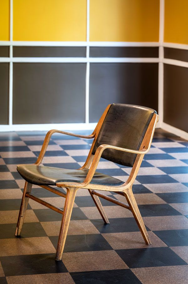 Tranformation, renovating, 4. maj kollegiet, architect Hans Hansen, functionalism