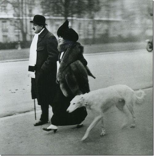 {Fevrier, Paris, Avenue du Bois du Boulogne, le Matin; Jacques Henri Lartigue 1912}