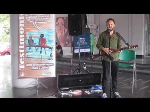 CESAR LOPEZ  Y SU ESCOPETARRA (24-0) en la UNIVERSIDAD DE CALDAS
