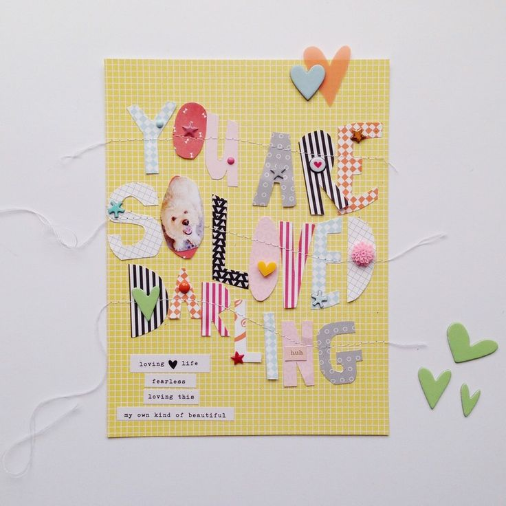 You+are+so+loved+darling+by+HelloTodayCreate+at+@studio_calico