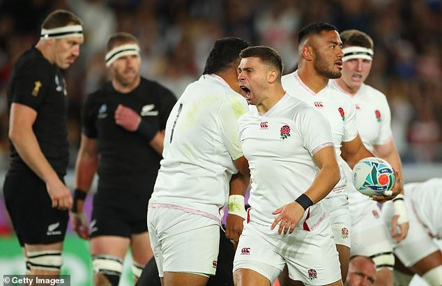 Twitter Congratulates England On Incredible Rugby World Cup Semi Final Victory Against New Zealand Rugby World Cup England Football Team World Cup Semi Final