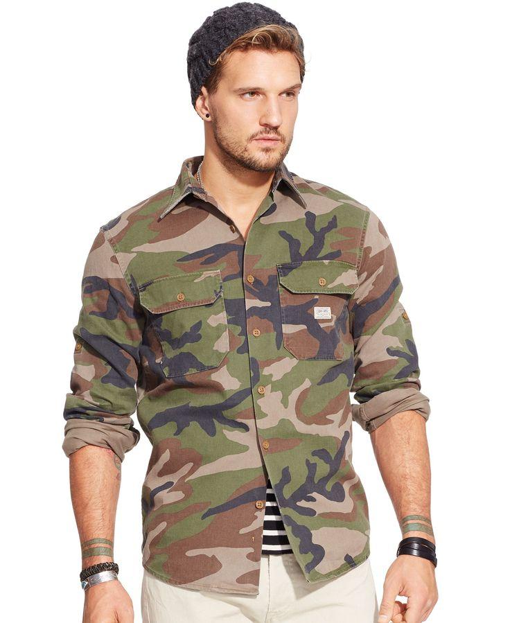 Denim & Supply Ralph Lauren Camo Military Shirt