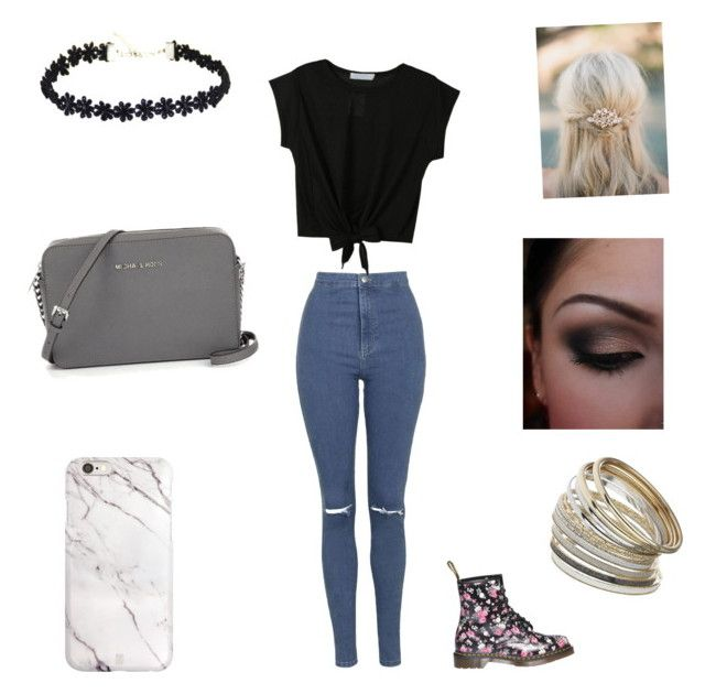 """""""Untitled #27"""" by nat2124 on Polyvore featuring Topshop, Dr. Martens and Miss Selfridge"""