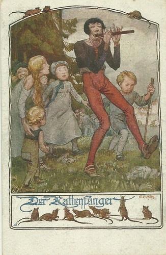 E Schutz Fairy Tale The Piped Piper