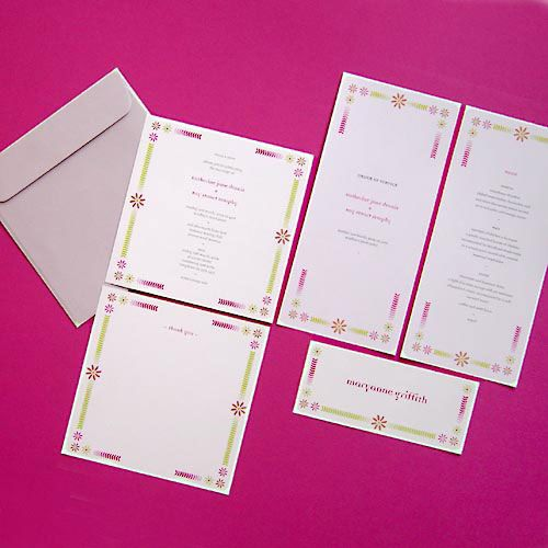 Spring Stationery Range