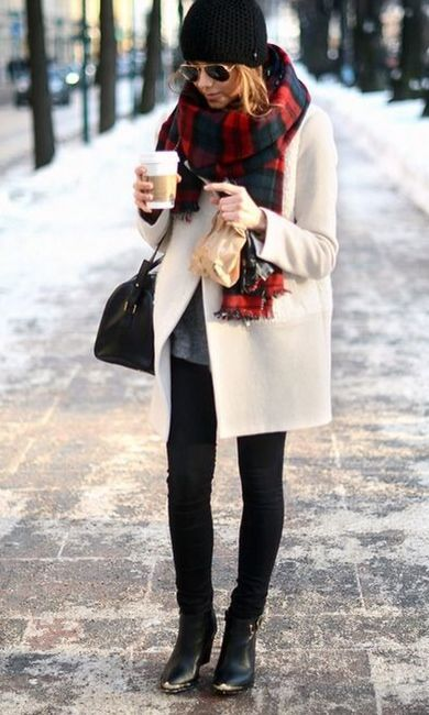 REAL winter style - Chic on the street