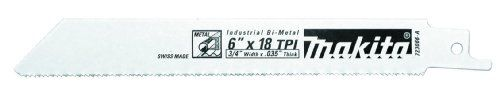 Makita 723066-A-100 6-Inch 18-TPI Metal Cutting Reciprocating Saw Blade