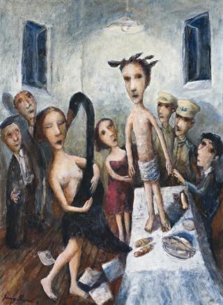 THE BLACK SWAN OF TRESPASS, 2003   Garry Shead (born 1942)