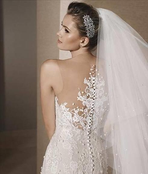 En moda nupcial España se sitúa en la cabecera mundial, aquí se marca tendencia #novias #HannibalLaguna