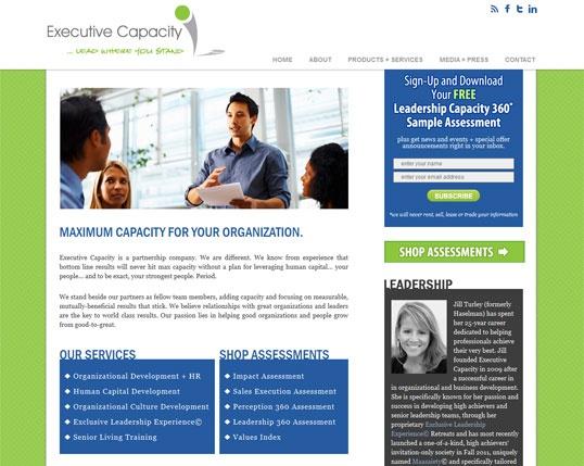 Executive Capacity Website