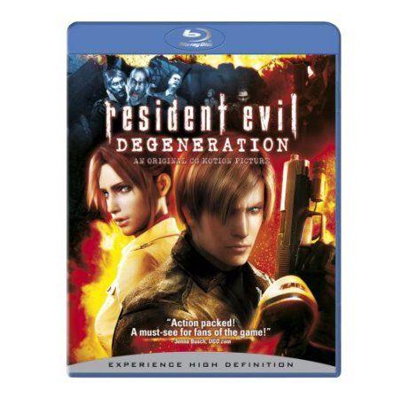 Resident Evil Degeneration Blu Ray Walmart Com In 2021 Resident Evil Resident Evil Movie Evil