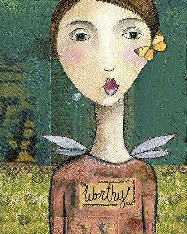 Kellie Rae Roberts art - love the images and the words!