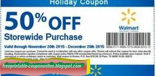Free Printable Walmart Coupons Walmart Coupon Coupons Holiday Coupons